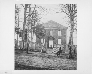 The Falls Church during the Civil War