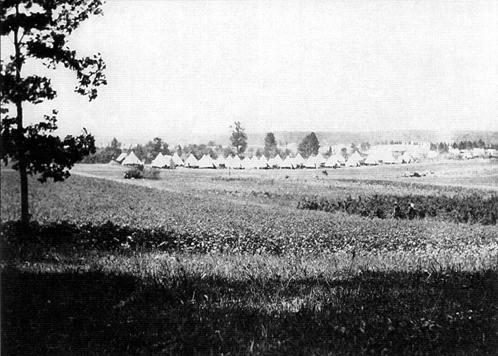 Dunn Loring history – Camp Alger (1898)